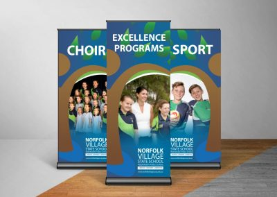 Norfold Pull Up Banner
