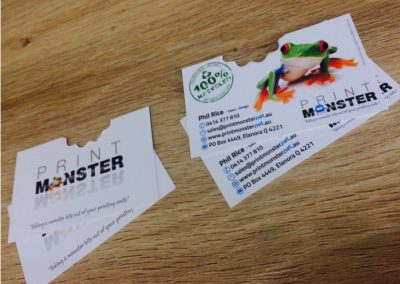 Print monster recycled cards