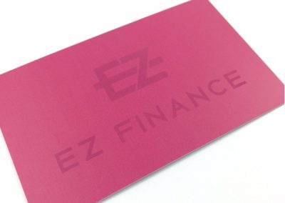 EZ finance Blind spot UV