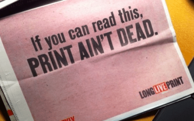 In a Digital World, Print stands out