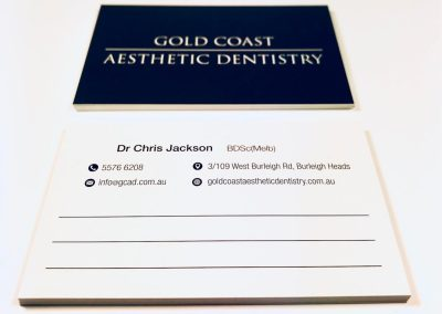 Appointment Card - Uncoated Back