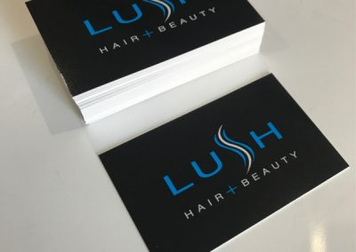 Loyalty Appointment cards gloss finish