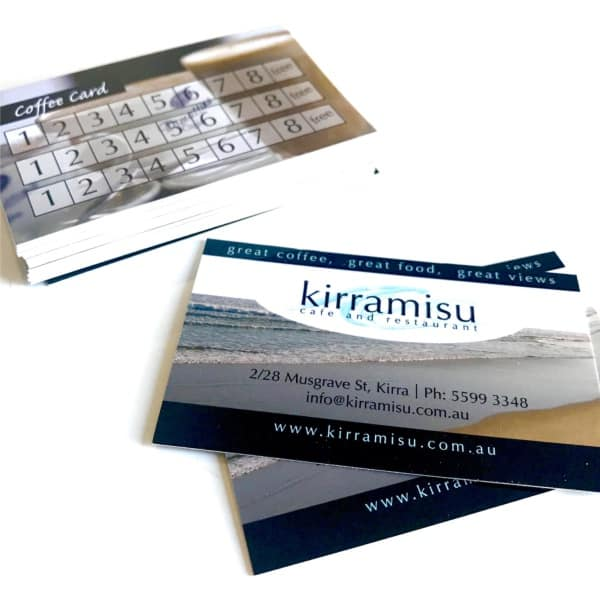 Business card printing currumbin waters print monster products loyalty cards reheart Choice Image