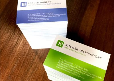 Premium Business Cards 420gsm Gloss Finish