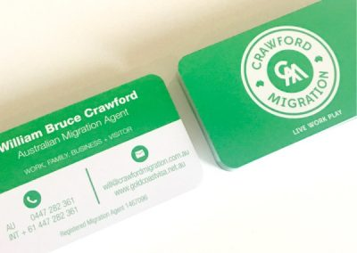 Premium Business Cards 420gsm Rounded Corners Matt Finish