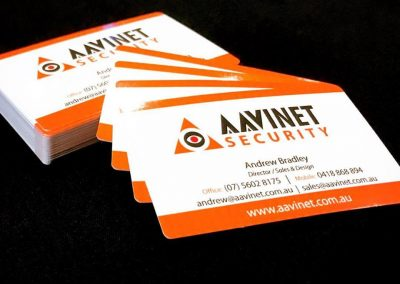 Business Cards - Security Company